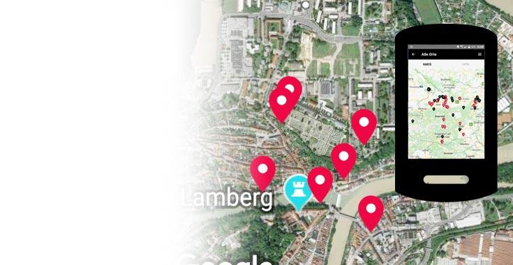 Themenbild Mauthausen-Außenlager-App