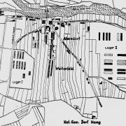 Detailplan Lager I und II