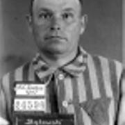 Erkennungsdienstfoto (1940) des Häftlings Pawel Bakowski (später im KZ-Amstetten)