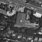 Katasterplan 1:1.000, Keller Brucker-Hainburgerstraße 26; Grundstück 248/2