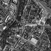 Überblick 1:5.000 mit GPS-Daten, 1=Gebäude Hauptplatz 3