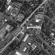Überblick 1:5.000 mit GPS-Daten, 1=Gebäude Wiener Straße 52