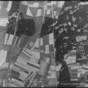 Luftbild der US Army vom 20.04.1945 13.00 Uhr