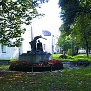 Monument in Pollheimerpark