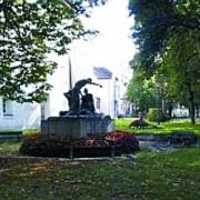 Denkmal im Pollheimerpark