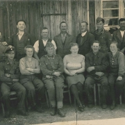 SS and civilians in Bachmanning, 1940s