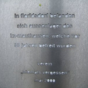 CC-Floridsdorf Memorial Plaque