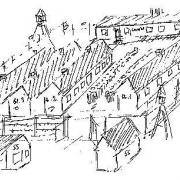 Skizze des KZ Schlier-Redl-Zipf (erstellt 1965)