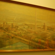 Picture of the rayon wool factory - Lenzing AG