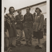 Liberated women on 5 May 1945