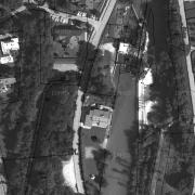 Katasterplan 1:1.000; ehem. Lagergelände großteils Grundstücke 1385/2 und 1385/1. Denkmal-Grundstück 1383/1