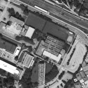 Katasterplan 1:1.000 AL Vöcklabruck-Wagrain, ehem. Lagergelände, Gedenkstein auf Grundstück 603/2