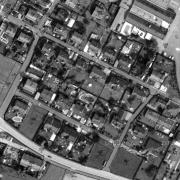Cadastral map 1:1.000, former storage area