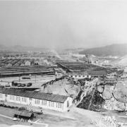former camp, June 1945