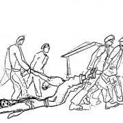Drawing 2 by Lodovico Barbiano di Belgiojoso