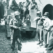 US Spähtrupp erreicht Gusen II am 5. Mai 1945