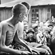 Befreite Jugendliche in Gusen