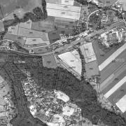 Katasterplan 1:5.000; Denkmal KZ Gusen III (Lungitz)