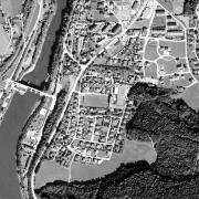 Überblick 1:5.000 mit GPS-Daten, Punkt 4: ehem. Küchenbaracke