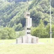 Monument in the roundabout