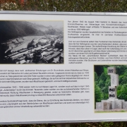Information board near the roundabout