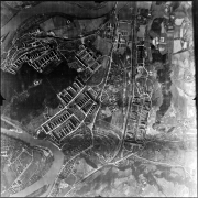 Aerial photograph of the USAF, March 1945