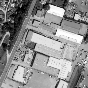 Cadastral map 1:1,000, former storage area - today industrial estate