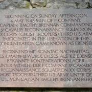 Gedenktafel - Memorial Ebensee