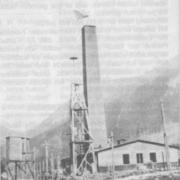 KZ-Ebensee: Krematorium, 1945