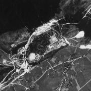 KZ-Ebensee: Luftbild
