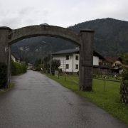 former camp gate