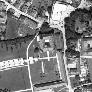 Katasterplan 1:1.000;  KZ - Schloss Hartheim großteils Grundstück 450