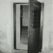 Schloss Hartheim: Door to the gas chamber