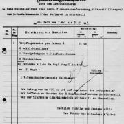 Faksimile Verpflegung - KZ Mittersill