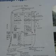 Informationstafel beim Gelände des ehem. KZ-Peggau