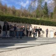 Gedenkveranstaltung bei der KZ-Gedenkstätte