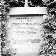 Gedenkstätte 1958