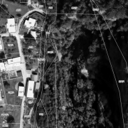 Katasterplan 1:1.000; Stolleneingänge Grundstück 501/3