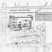 KZ-Saurer Werke: Plan sketch of the former prisoner Franz Kalteis