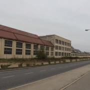 """The site of the former company """"Österreichische Saurerwerke AG"""" (Ö.S.W.) 2018"""
