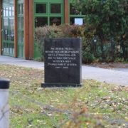 Memorial for the former prisoners of the concentration camp Saurerwerke
