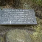 Gedenkstein KZ-Außenlager Bretstein