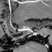 Katasterplan 1:1.000, 1: Memorial im Bretsteingraben Grundstück Nr. 1104