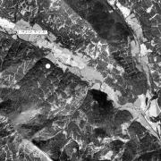 Overview 1:25.000 with GPS data; 1:Memorial in Bretsteingraben