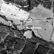 Überblick 1:5.000 mit GPS-Daten; 1:Memorial im Bretsteingraben