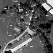 Cadastral map 1:1,000; Lind Castle
