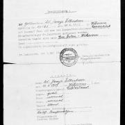 Hoogers Entlassungsschein St. Lambrecht