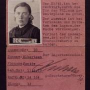 Hoogers Elbertsen Jans Lagerausweis Ravensbrück