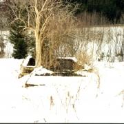 Latrinenbaracke Becken