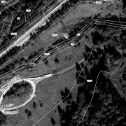 Cadastral plan 1:1,000, former storage area; mostly plot 140/1